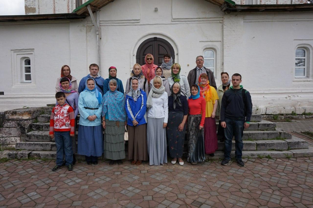 Поездка в Сийский монастырь, 2015