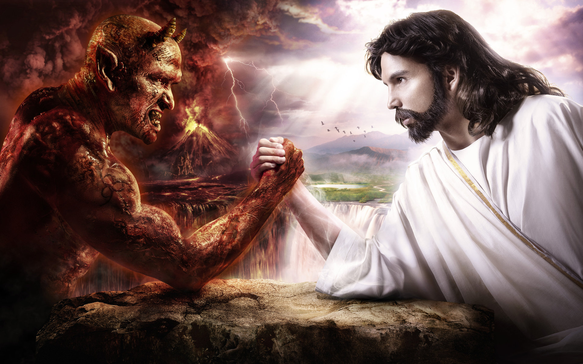 Божьи и демонические стихии